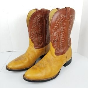 Vintage Tony Lama Hand Crafted Western Boots 12